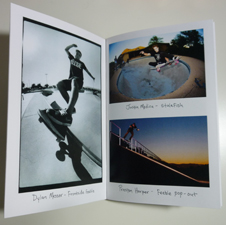 Brad Westcott - Over and Out - zine page