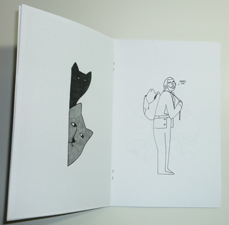 Eric Ellis - Mostly Drawings - zine page