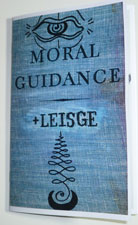 Jason Leisge - Moral Guidance - zine page