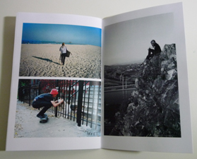 Jeremy Tubbs - Wherever god strikes me down - zine page
