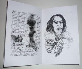 Lou Shields - zine pages