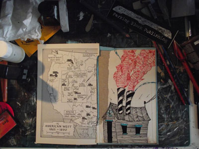 Benjamin Carr - Zine in Progress